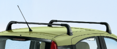 Barres de toit en aluminium pour Fiat Panda