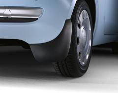 Bavettes arrière en caoutchouc pour Fiat 500