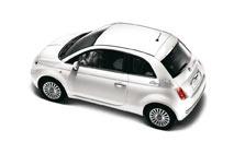 Autocollants ville de Rome pour Fiat 500