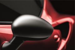 Coques de rétroviseurs chrome satiné pour Alfa Romeo 4C
