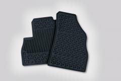 Tapis de sol en caoutchouc pour Fiat Professional Fiorino