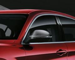 Coques de rétroviseur en fibre de carbone pour Alfa Romeo Stelvio