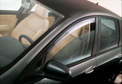 Déflecteurs anti-turbulences avant pour vitres latérales de Fiat Croma