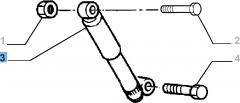 Amortisseur arrière 2 pc - 2  pc pour Fiat Professional Strada