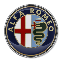 Écusson Alfa Romeo arrière pour Alfa Romeo 159
