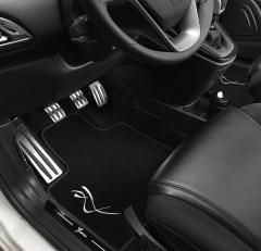 Kit d'éclairage temporisé à monter sous la planche pour Lancia Ypsilon