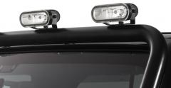 Jeu de phares tout-terrain pour barre de rampe de projecteurs