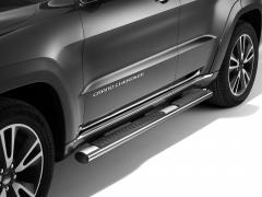 Marchepieds chromés pour plates-formes latérales situées sous la porte pour Jeep Grand Cherokee