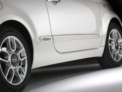 Bandes latérales de protection contre les chocs pour Fiat 500