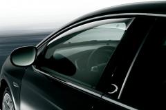 Déflecteurs anti-turbulences avant pour vitres latérales de Lancia Delta