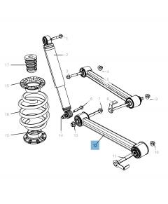 Bras oscillant de suspension inférieure pour Jeep Cherokee