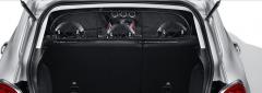 Filet de séparation de transport d'animaux pour Fiat 500X