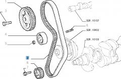 Courroie de distribution pour Fiat et Fiat Professional