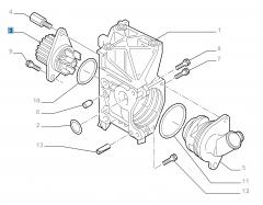 Pompe à eau pour Fiat et Fiat Professional