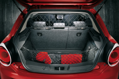 Filet de séparation de transport d'animaux pour Alfa Romeo Mito