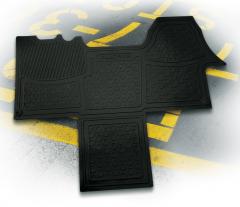 Tapis de sol en caoutchouc pour Fiat Professional Ducato