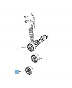 Tendeur de courroie fixe pour Jeep Compass/Patriot