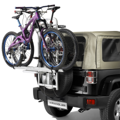 Porte-vélo sur roue de secours