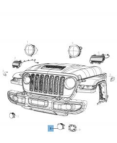 Antibrouillard pour Jeep