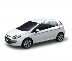 Autocollants Indian Ink pour version 5 portes Fiat Punto Evo