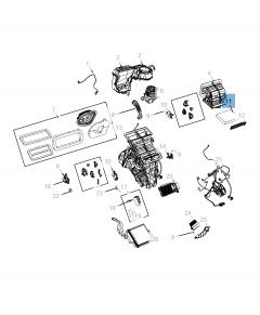 Filtre à air d'habitacle pour Jeep Compass