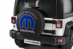 Couvre roue de secours avec logo MOPAR