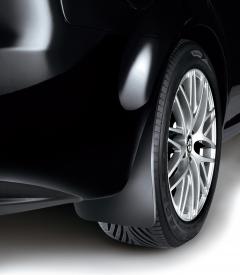 Bavettes arrière en caoutchouc pour Alfa Romeo 159