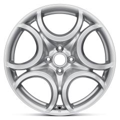Jante alliage 7J x 17'' H2 ET39 pour Alfa Romeo Mito