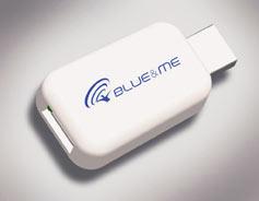 Adaptateur de lecteur média Blue Me  pour iPod et iPhone
