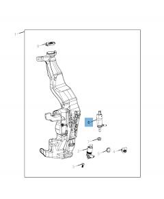 Pompe de lave-glace pour Jeep