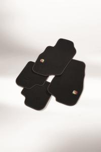Kit de tapis de sol en moquette pour Abarth 500
