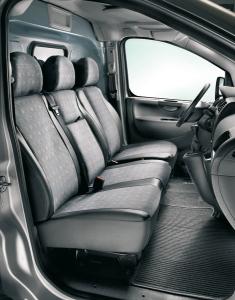 Housse de protection du siège côté passager pour Fiat Professional Scudo