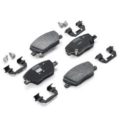 Plaquette de frein à disque arrière (jeu de 4 pièces) pour Fiat Sedici