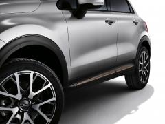 Finitions latérales bronze pour portes de Fiat 500X