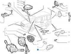 Clignotant latéral pour Fiat et Fiat Professional