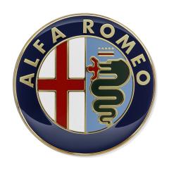 Écusson Alfa Romeo de porte arrière pour Alfa Romeo