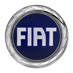 Écusson Fiat sur calandre pour Fiat Professional Scudo