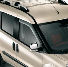 Déflecteurs d'air de vitres avant pour Fiat et Fiat Professional Doblò
