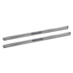 Barre de seuil en aluminium avec logo imprimé pour Lancia Ypsilon