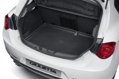 Protection semi-rigide de coffre à bagages pour Alfa Romeo Giulietta