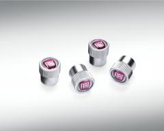 Bouchons de valves de pneus avec logo Fiat pour Fiat