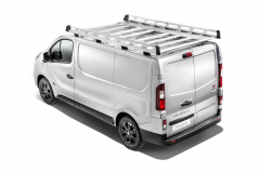 Passerelle en aluminium pour portes battantes L1 H1
