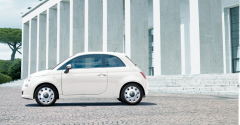 Kit d'enjoliveurs style vintage pour roues de 15'' Fiat 500