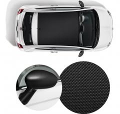 PACK STICKERS CARBON BLACK* pour Fiat 500