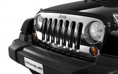 Calandre chromée pour Jeep Wrangler