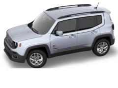 Kit d'autocollants de carrosserie avec drapeau américain pour Jeep Renegade